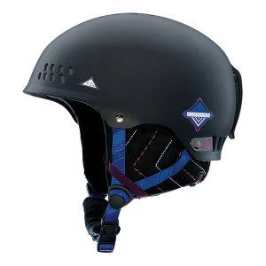 k2 emphasis black dames skihelm