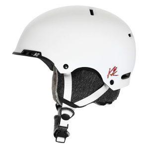 k2 meridian white dames skihelm