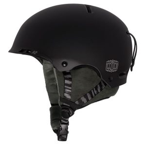 k2 stash black skihelm