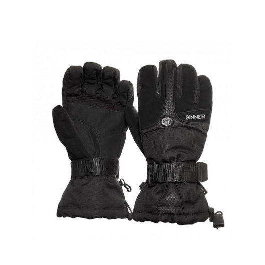 sinner everest black handschoenen