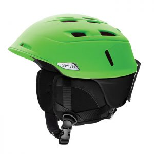 smith camber green skihelm