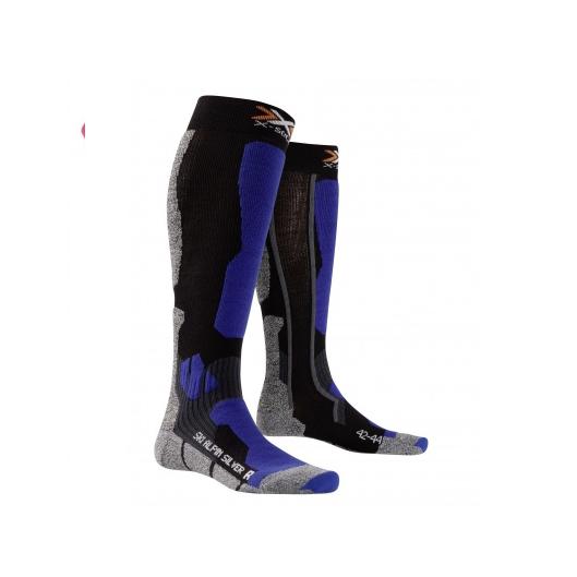 x-socks ski alpin silver skisok