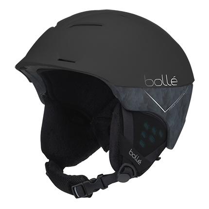 bolle-synergy-mat-black-skihelm