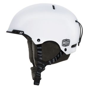 k2 stash white skihelm