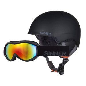 sinner skihelm + bril