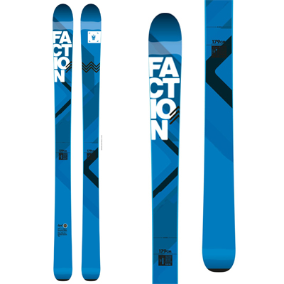 Faction ski test