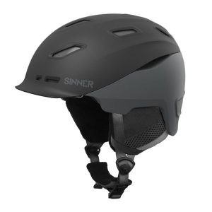 sinner moonstone black skihelm