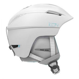 salomon icon white dames skihelm