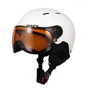sinner typhoon visor white vizier helm