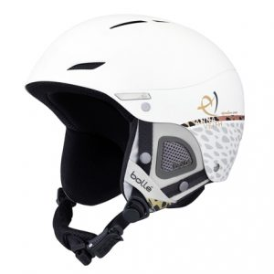 Bolle Juliet white dames skihelm