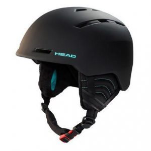head valery black dames skihelm
