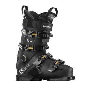 salomon s max 110w dames skischoen